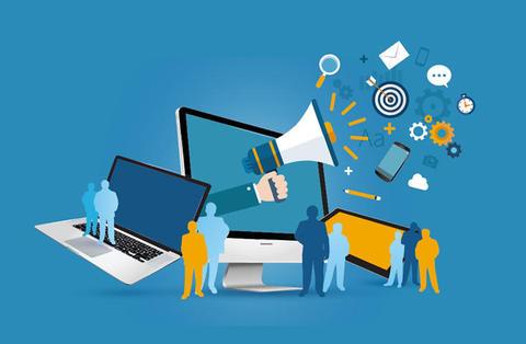 社内のコミュニケーションツールを分類できるマトリクス